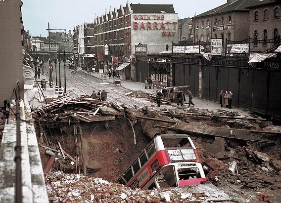1940London destroyed German bomb