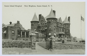The Old Staten Island Hospital.