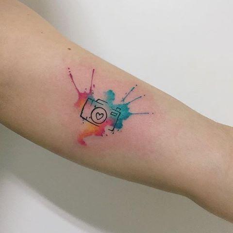 Resultado de imagen para acuarela tattoo photography