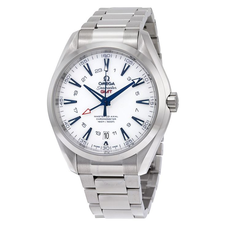 $6.745...Omega Seamaster Aqua Terra Automatic GMT Men's Watch 23190432204001 - Seamaster Aqua Terra - Omega - Watches - Jomashop