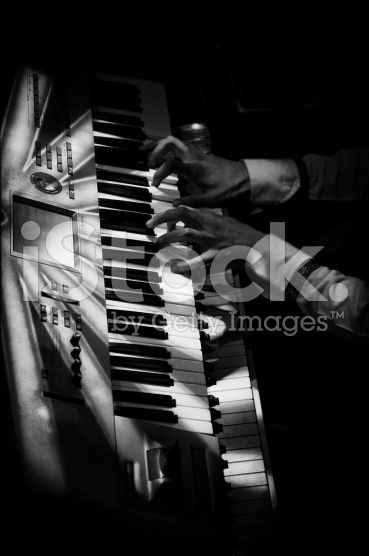 Musicians Hands royalty-free stock photo