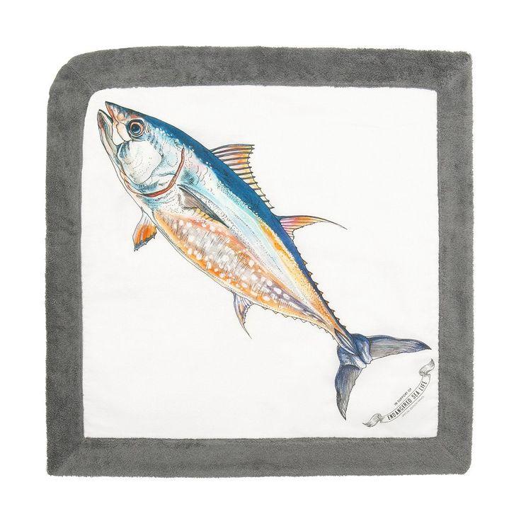 WWF Tuna   Baby Towel - Sun of a Beach