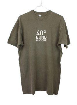 Tshirt // Bundeswehr // 40° Bundwäsche