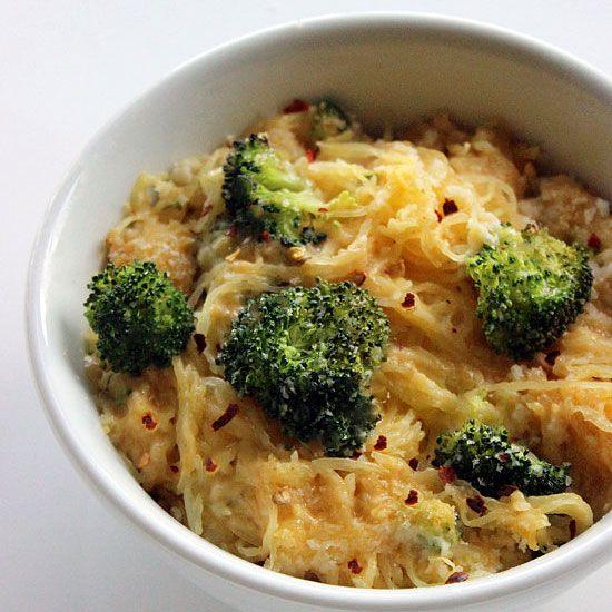 Spaghetti Squash Mac & Cheese The 25 Most Popular Healthy Recipes on Pinterest | Women's Health Magazine
