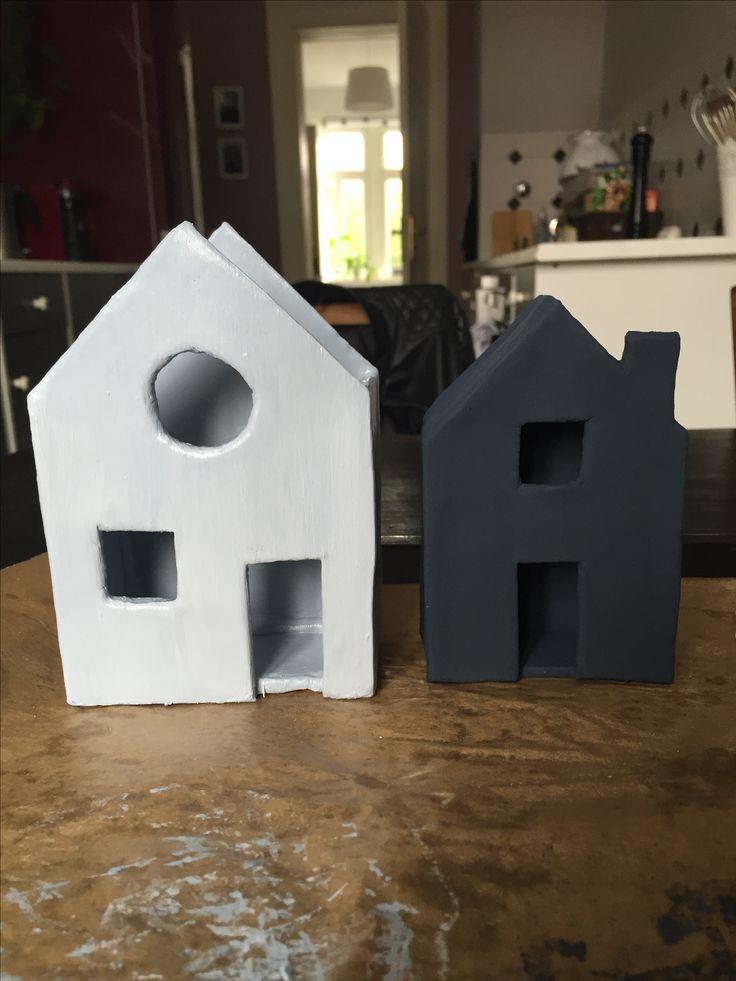 lichterhaus r ucherhaus aus ton diy basteln. Black Bedroom Furniture Sets. Home Design Ideas