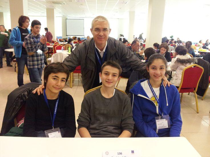 Anabilim'in katıldığı İstanbul Ortaokulları arası Bilsem 5.Sudoku Yarışması, 12 Nisan Cumartesi günü Üsküdar Gençlik Merkezi'nde düzenlendi. Türk Beyin Takımı ve Akıl Oyunları Dergisi'nin düzenlediği yarışmaya, 71 okuldan 213 öğrenci katıldı.