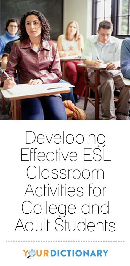 Developing effective ESL classroom activities for college students and adults is fun because you have a lot more freedom to choose topics and activities than you do with kids. Depending on your employer and required curriculum, you can select more materials based on your own interests and the interests of your students, which will make your lessons more engaging and your activities more fun. When you are interested in what you're teaching, it's much easier to capture your students'…