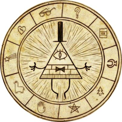 Bill Cipher Wheel Gravity Falls Pinterest The Old