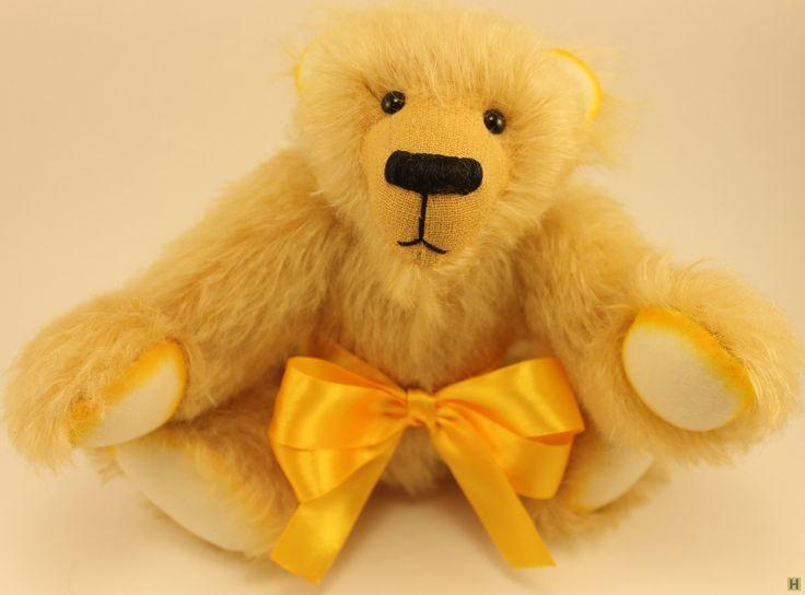 Лимончик - солнечный мишка тедди-1