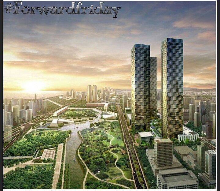 #forwardfriday   Songdo International Business District is a new smart city built 65km Southwest of Seoul South Korea. This 10-year development project is estimated to cost in excess of $40 billion making it one of the most expensive development projects ever undertaken. #projekts #gettingthingsdone #yyc #yycbusiness #Calgary #startup #launch #free #entrepreneur #weekend #tgif