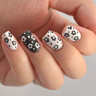 The 25 best dotting tool designs ideas on pinterest nail art floral nails using dotting tool prinsesfo Gallery