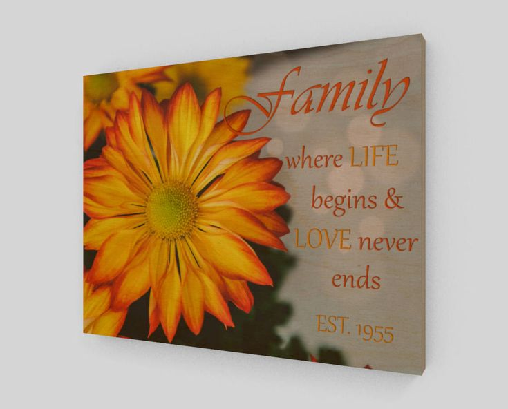 Family Sign - Family Wooden Signs - Wood Sign - Established Family Sign - Family Wood Sign Personalized - Custom Family Wall Decor by WoodnPix on Etsy https://www.etsy.com/listing/576380507/family-sign-family-wooden-signs-wood