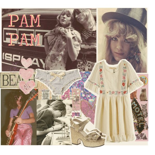 Pam PAM by janislovepinups on Polyvore featuring moda, ASOS, Victoria Grant and Shabby Chic