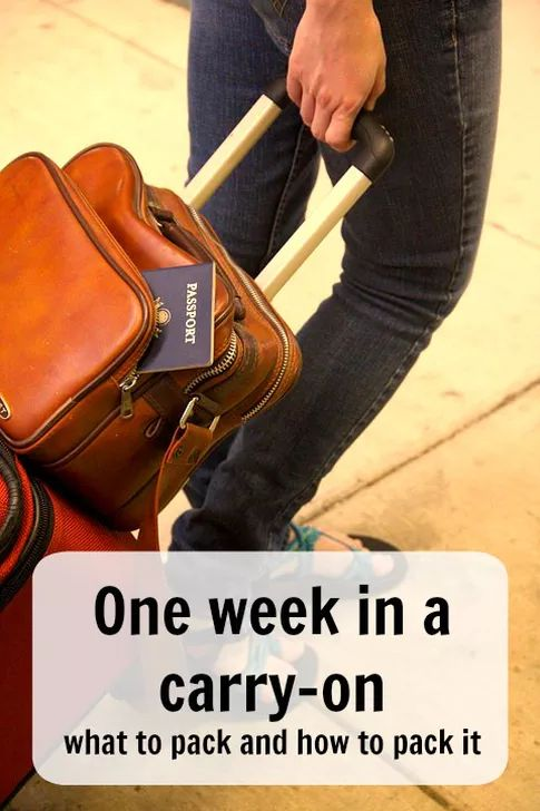 One week in a carry-on – what to pack and how to pack it. Want to know what the best carry on suitcase is? How to pack to make the most of your space? or are you looking for a complete list so you don't forget anything? Ann K Addley travel blog