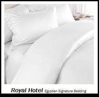 Royal Hotel S 8pc Queen Size Bed In A Bag Solid White 800