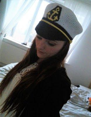 Vilstrup's kreative univers!: Kaptajn hat.  Nyt på bloggen!