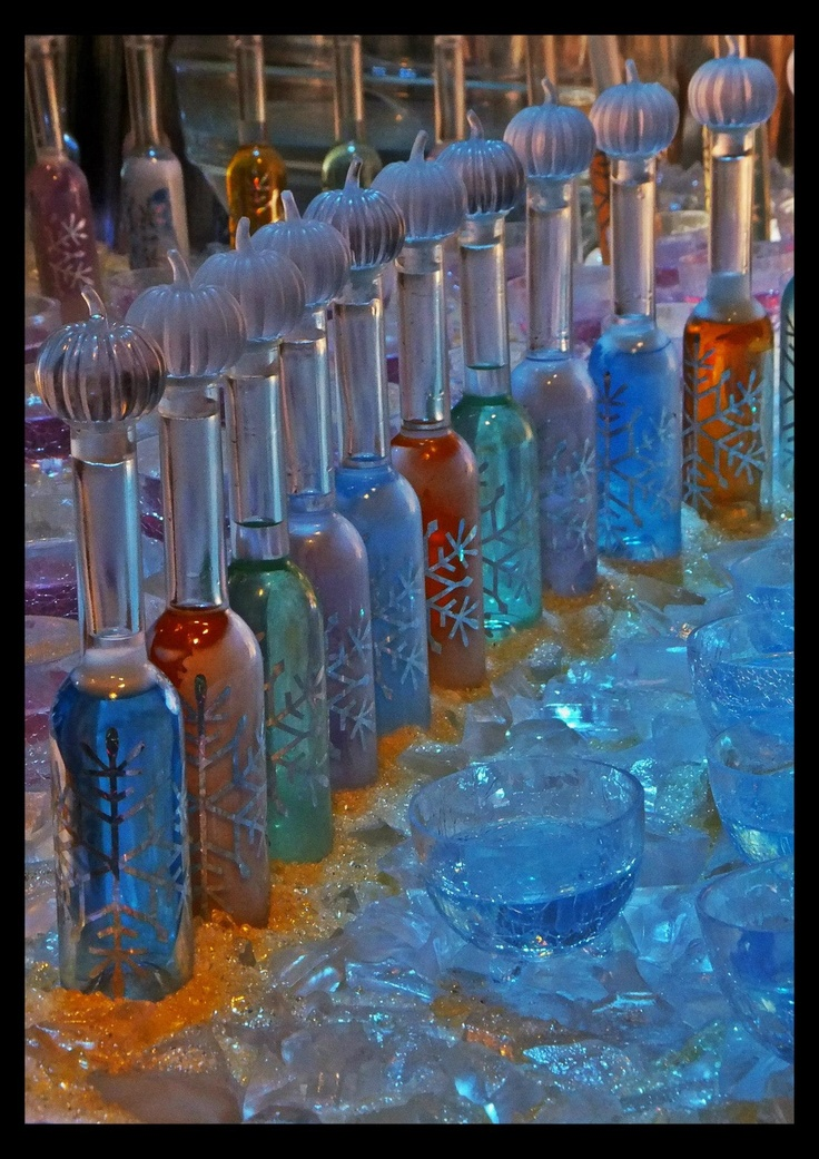 Yule Ball Bottles From The Warner Brothers Studio Tour