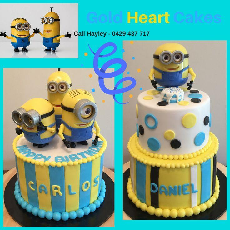 Minion Cakes  http://goldheartcakes.website/fun-kids/2018/2/25/minion-cakes
