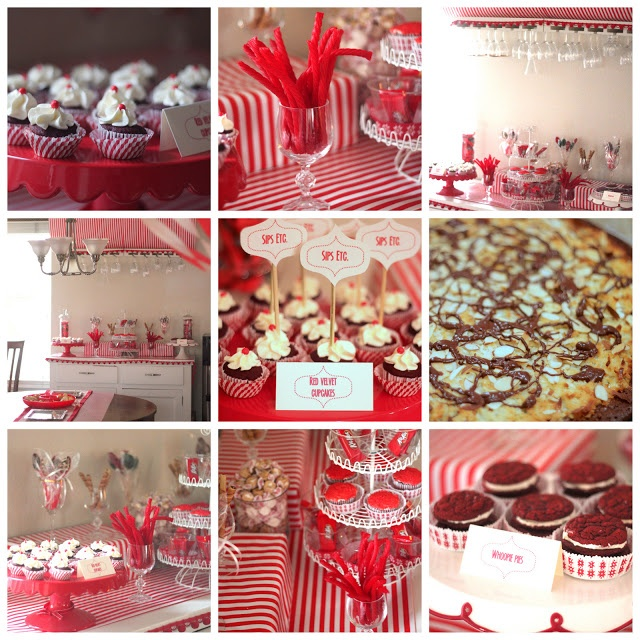 red-and-white party! | kojodesigns