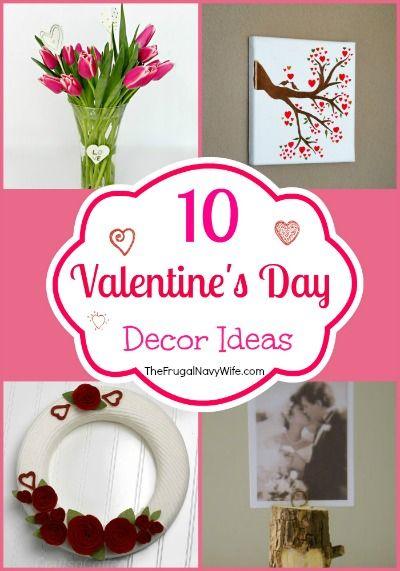 10 valentines day decor ideas - Valentines Day Decor