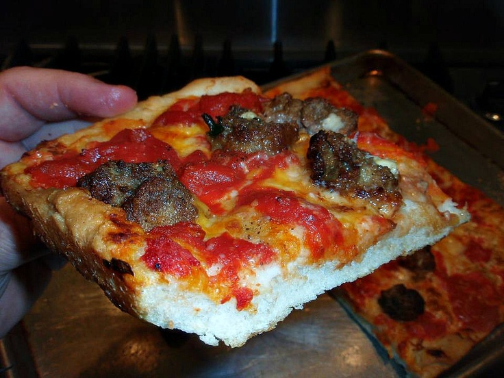 Meatball pizza.... | MY FOOD BY A FOOD OBSESSION | Pinterest