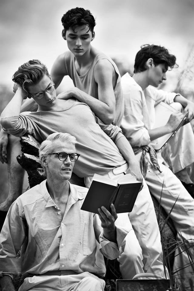 Dress to express, not to impress — menburnstars: Jean Gorguet, Adrien Jacques,...