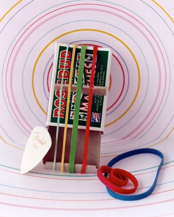 12 Retro Toys You Can Totally DIY - There might be DJ Booths for Kids now (true story), but we like to stick with the classics. With some household odds and ends, you can make a whole set of musical instruments that turns the family into a band -- just like back in the day.