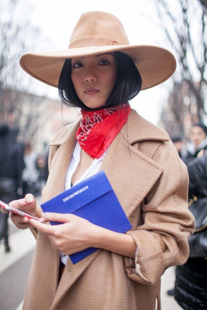 inspiração como usar lenços street style