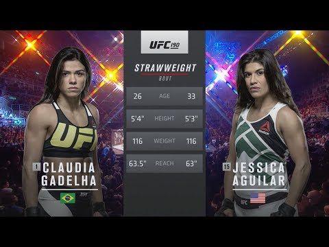 UFC 212 Free Fight: Claudia Gadelha vs Jessica Aguilar