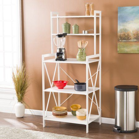 Home Modern Farmhouse Style Extra Dining Room Storage Bakers