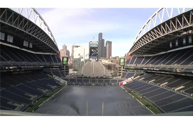 Video: #Seattle Stadium used for #earthquake research during #Seahawks playoff game Saturday