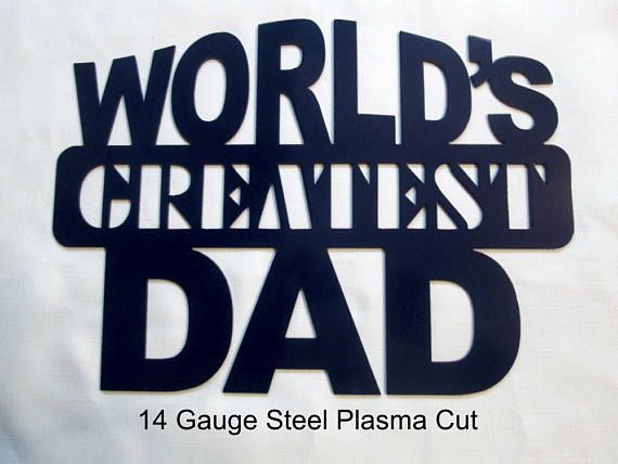 Father's Day Gift Idea. World's Greatest Dad Let Dad