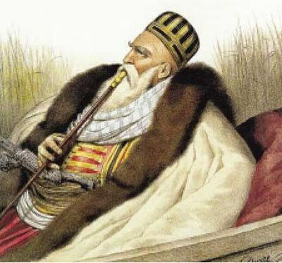 Pasha Ali - Governor of Ioannena Greece 1821 - During the revolution he attempted to declare Ioannena as a separate state