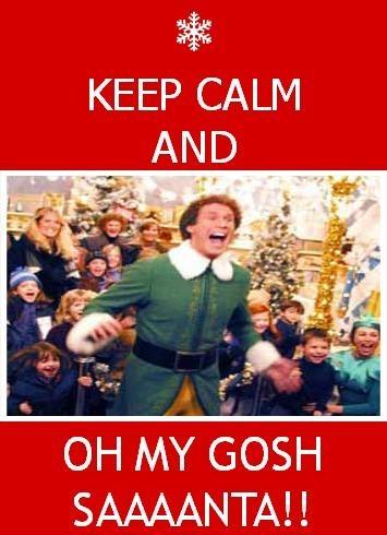 SANTA'S COMING! #buddytheelf #christmas | Best holiday ...