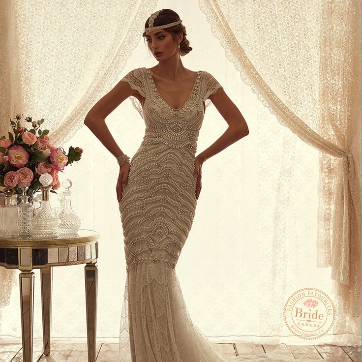 Coco gown from Anna Campbell collection, as seen on dressfinder.ca