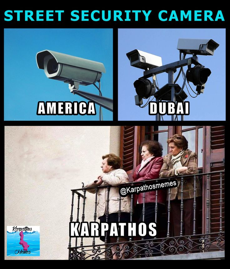 STREET SECURITY CAMERAS AROUND THE WORLD #karpathos #memes #camera #street #funny #quote #karpathosmemes #security