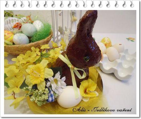 Jedlíkovo vaření: Velikonoční recepty, velikonoční zajíček  #recipe #czech #easter #velikonoce #zajicek #velikonoce #recept