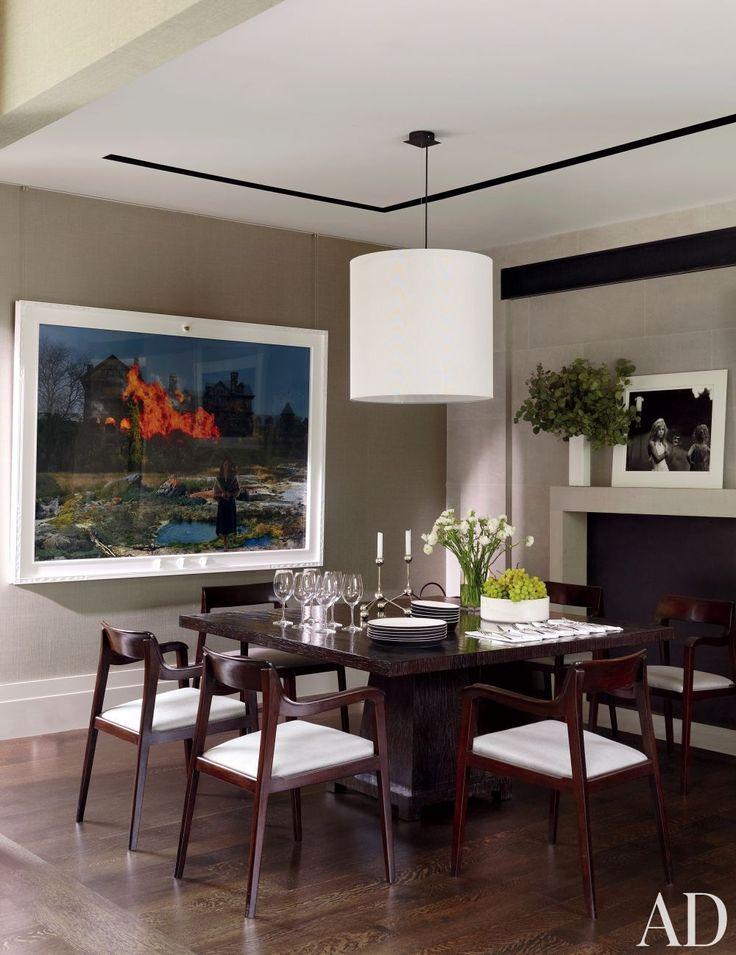 Contemporary Dining Room By McAlpine Booth Ferrier Interiors And DA