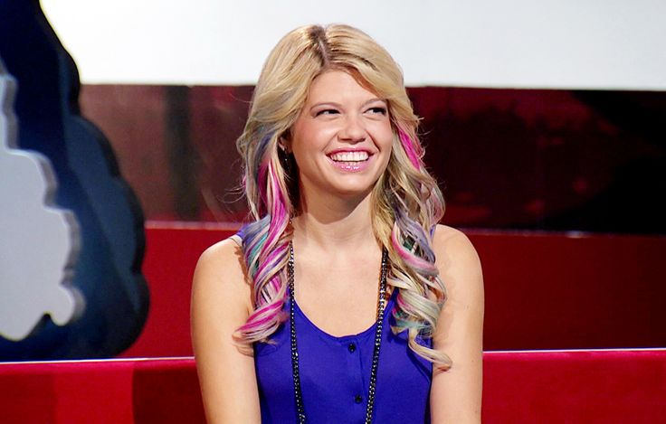 Pastel highlights on Chanel West Coast.