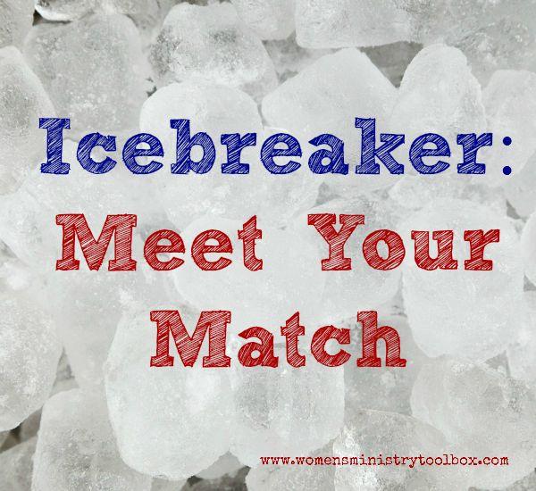 Icebreaker: Meet Your Match - Women's Ministry Toolbox