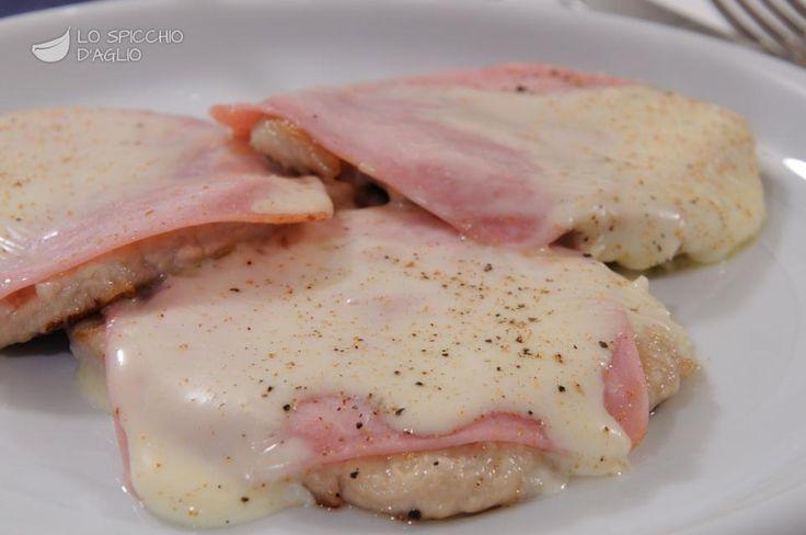 Scopri il modo migliore di preparare Scaloppine cotto e sottiletta in 30 minuti. Solo 420 kcal a porzione!