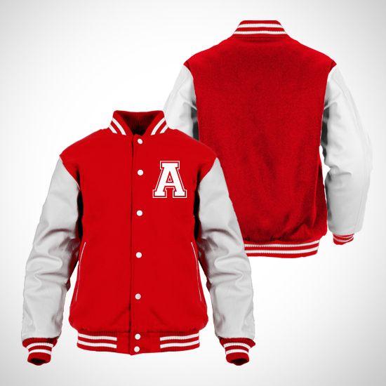 A list! #red #194000 #varsity #jacket #fall #white http://zocko.it/LDutJ