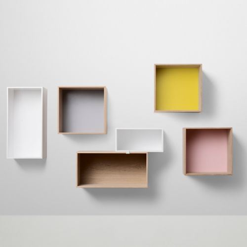 Stacked Shelf System – Closed back (muuto) from £89