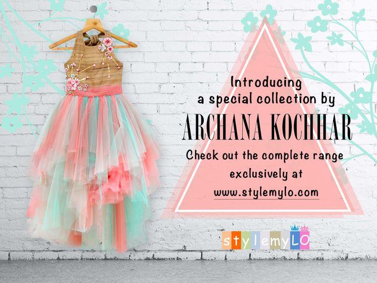 Archana Kochhar #archanakochhar #stylemylo #kidsfashion #kidswear #designerwear #kidsoutfit #newcollection #indianwear #onlineshopping #babygirls #babyboys #makeinindia