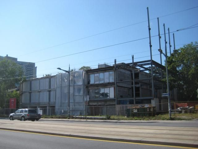 December 22, 2016: Removing an Eyesore on St. Clair. View of The Code Condos site, August 2012, image by #UrbanToronto Forum contributor AlbertC  #Toronto #urban #city #building #construction #condo