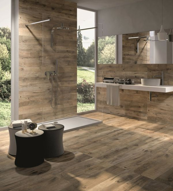 53 best Fliesen in Holzoptik images on Pinterest | Bathroom, Half ...