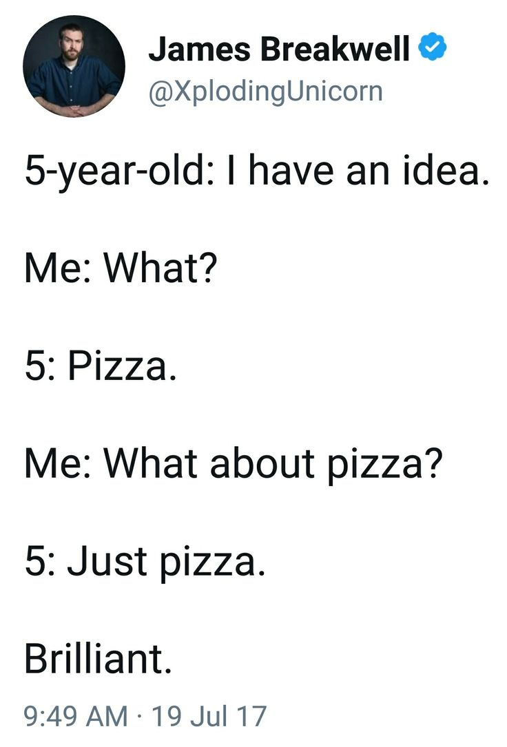 How everyone talks to a 5 year old