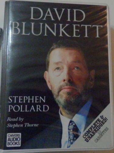 CHIVERS-AUDIO-BOOKS-DAVID-BLUNKETT-STEPHEN-POLARD-10-CASSETTES-BY-STEPHEN-THORNE