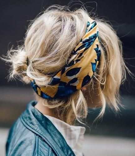 details. scarf.