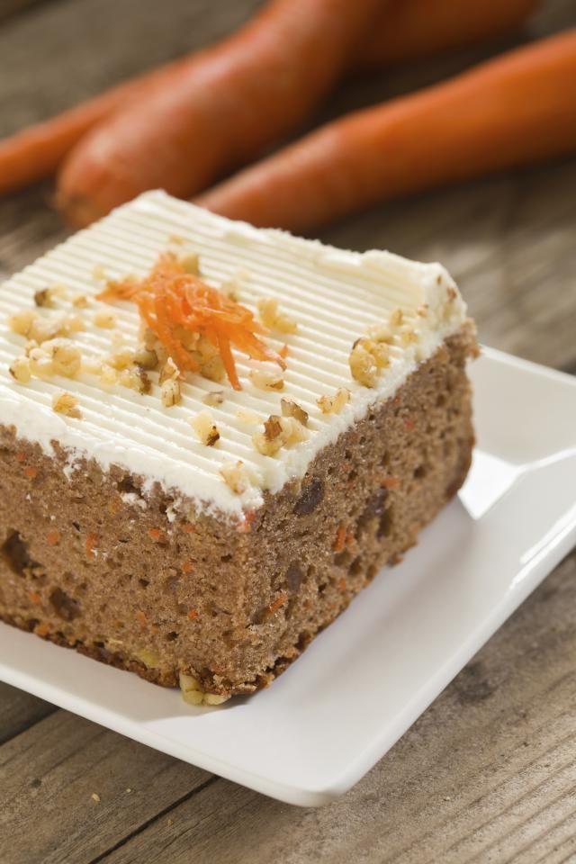 Low fat cakes slices recipes